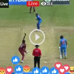 today Ind vs wi live match Score online