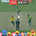 Live Cricket Ptv sports Pakistan vs South Africa 2nd T20
