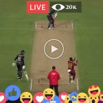 New Zealand vs West Indies 2nd T20 Live